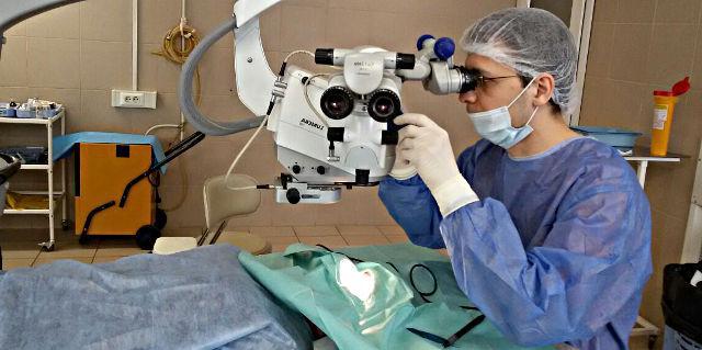 ИЭК - операция экстракапсулярной экстракции катаракты