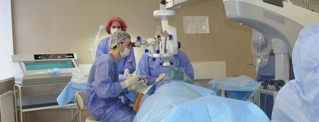 Ретинопатия сетчатки глаза - лечение